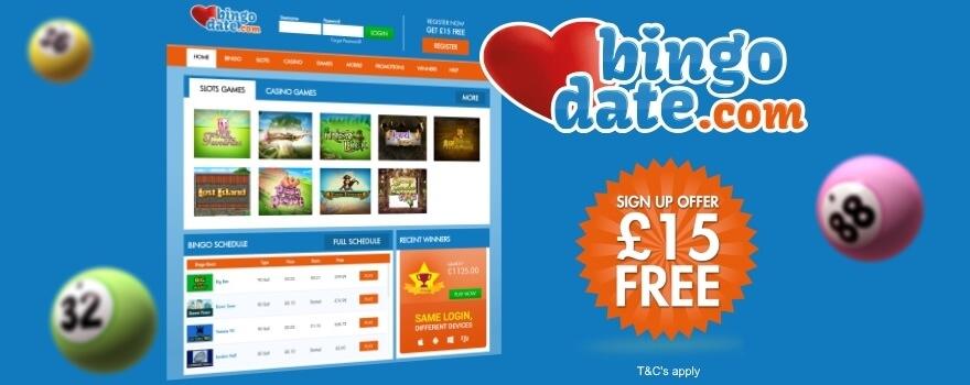 bingo free deposit bonus