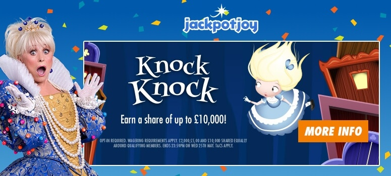 Jackpotjoy Bingo | Win a Share of £10,000