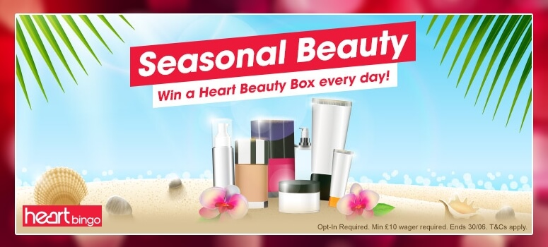 HeartBingo | WIN a Heart Beauty Box Every Day