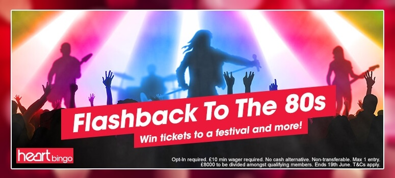 Heart Bingo | Win weekend tickets to the Rewind Festival