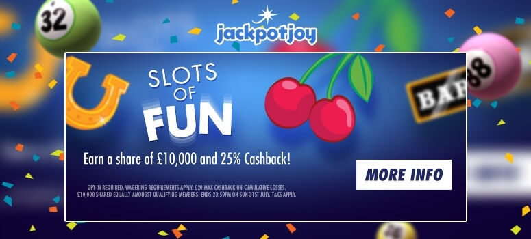 JackpotjoyBingo | Slots of Fun