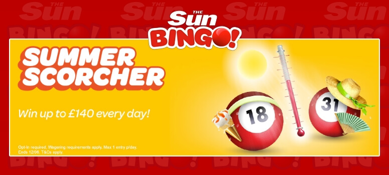 SunBingo | Win Daily Cash