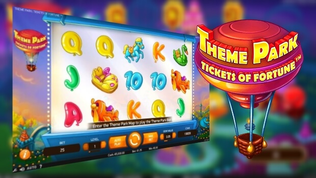 Theme Park: Tickets of Fortune Video Slot