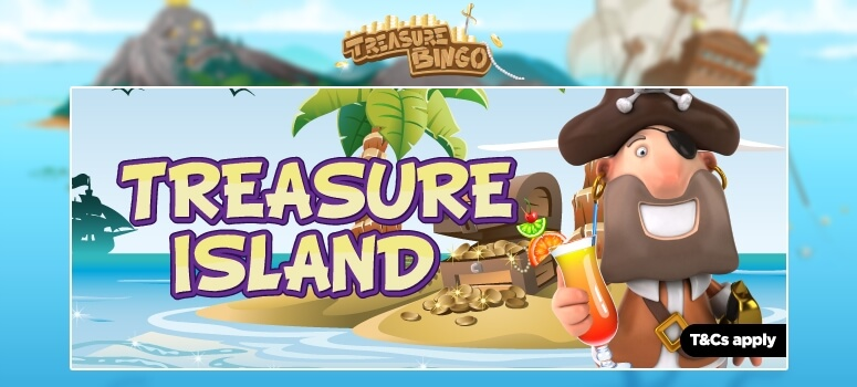 TreasureBingo | Win a £1,000 Holiday