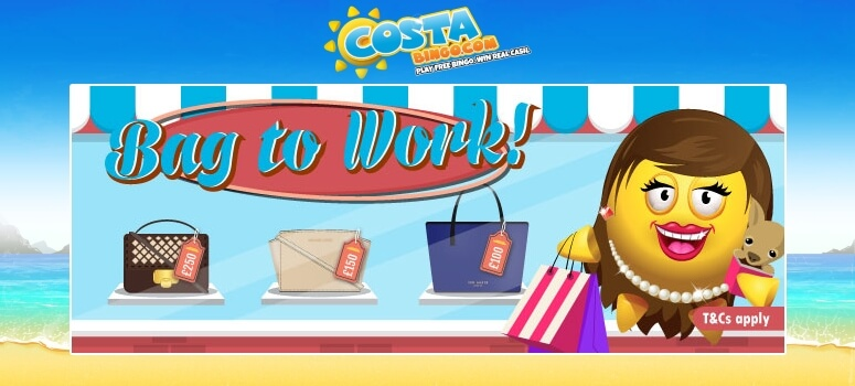CostaBingo | Win a Designer Bag