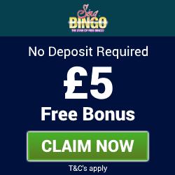 SingBingo   Free Bingo Bonus - No Deposit Bingo