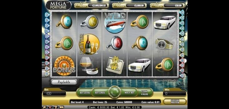 Mega Fortune Progressive Jackpot by Netent