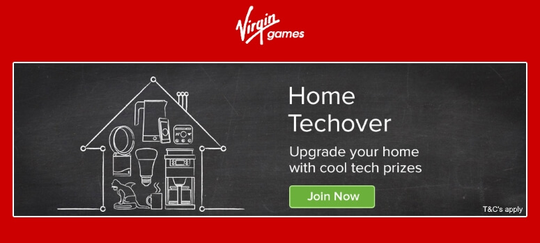 VirginBingo | Win a Home Technology Bundle