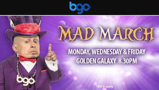 BGO Bingo | Mad March Prize Giveaway