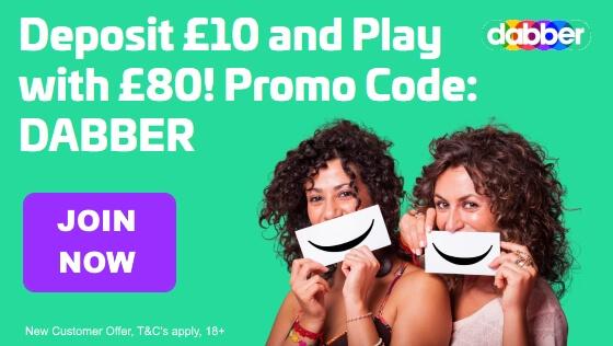 Dabber Bingo | Free Bingo Bonus