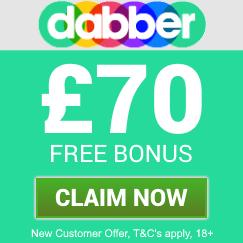 Dabber Bingo | £70 Free Bingo Bonus