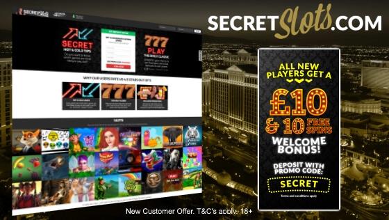 Secret Slots   Free Bonus and Free Spins