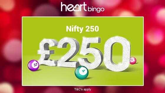 Heart Bingo | Nifty 250 bingo games