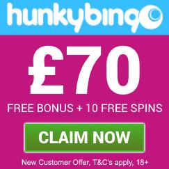 Hunky-Hunky Bingo | Get £70 free bingo bonus on a £10 depositingo-70-free-bingo-bonus-5-starbingo