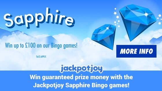 Jackpotjoy Bingo | Guaranteed Prize Money Bingo