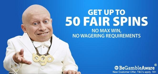 BGO | 50 Free Spins Welcome Bonus